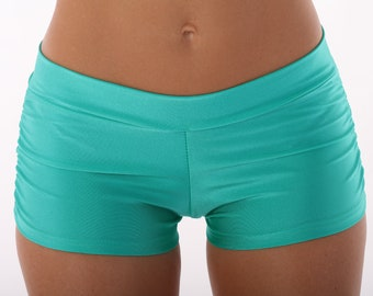 Isabella Shorts in Sea Foam Green