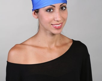 Women and girls blue yoga, fitness, running and workout headband, in Baby Blues Get 4 for 20 Dollars