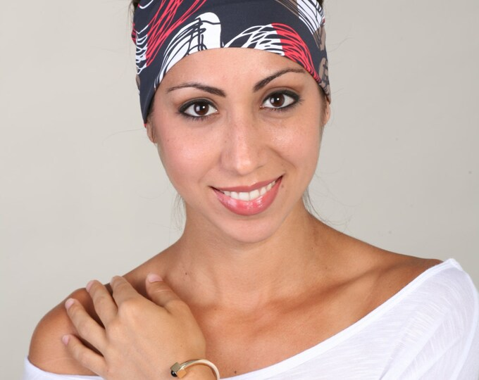Headband, Nylon Headband, Nylon Headbands, Stretchy Headbands, Yoga Headbands, Womens Headband, Turban Headband, Womens Headband in Shelly