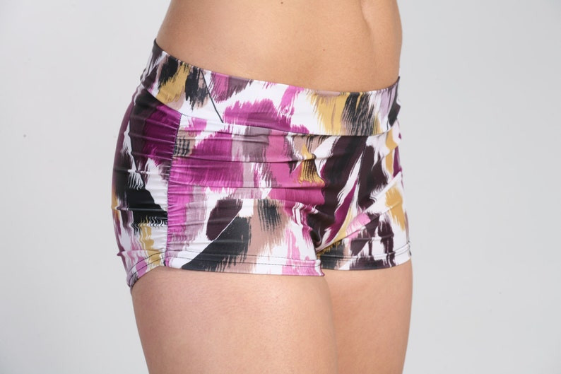 Women and Girls Yoga Beach Shorts in Claire Pole Dance
