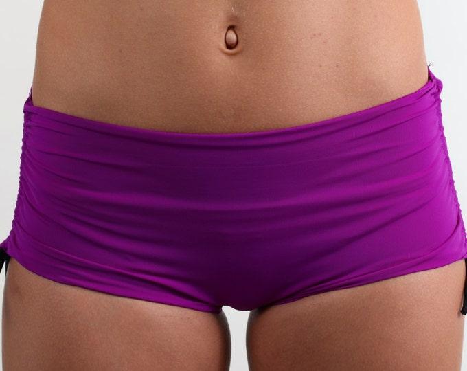 Bikini Shorts in Purple Patrice