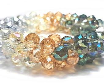 Women bracelets glass bead bracelet beaded bracelet braided bracelets chain bracelet link bracelet  inspiration multi colour bracelet