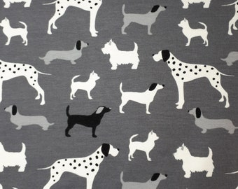 Kittybeanie Jersey with Silk Food *Special Edition Dogs Grey*