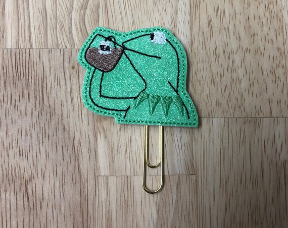 Kermit None Of My Business Planner Clip/Planner Clip/Bookmark. Snarky Planner Clip. Kermit Planner Clip. Muppet Planner Clip. Tea CLip