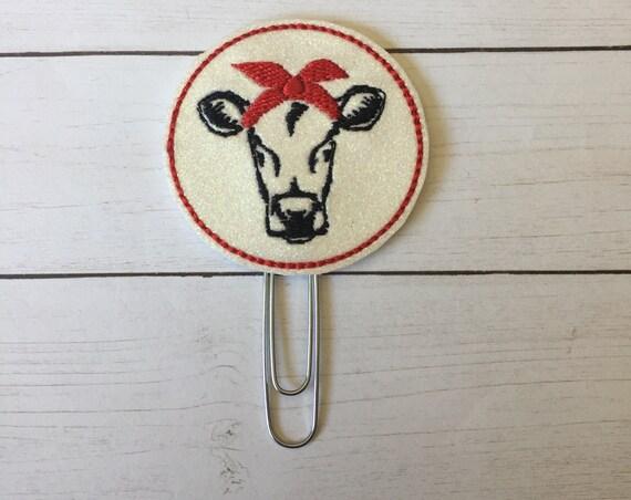Cow Planner Clip. Heifer Planner Clip/Planner Clip/Bookmark. Southern Planner Clip. Animal Planner Clip