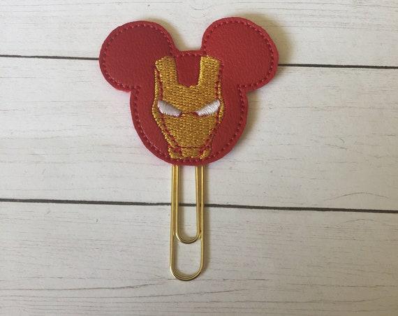 Mr Mouse Avenger planner Clip/Planner Clip/Bookmark. Avengers Planner Clip. Mouse Planner Clip. Super Hero Planner. Red Hero Planner Clip