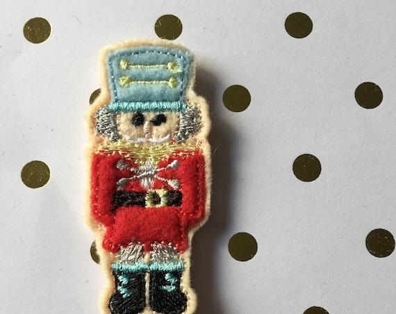 Nutcracker planner Clip/Planner Clip/Bookmark. Holiday planner clip. Christmas planner clip.