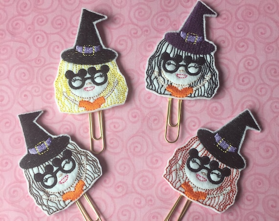Mouse Witch Girl Planner Clip. Witch Planner Clip. Mouse Planner Clip. Halloween Planner Clip. Disney Girl Planner Clip. Fall Planner Clip