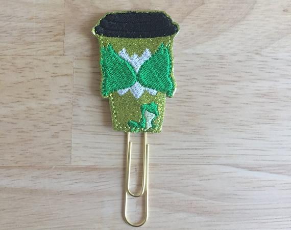 Tiana Latte Clip/Planner Clip/Bookmark. Princess Coffee Cup. Princess Tiana Planner Clip. Frog Princess Planner Clip. Coffee Planner Clip