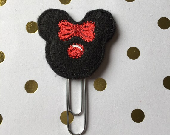 Ms Mouse Reindeer planner Clip/Planner Clip/Bookmark. Holiday Planner Clip. Mouse Planner Clip. Reindeer Planner Clip. Christmas Plan Clip