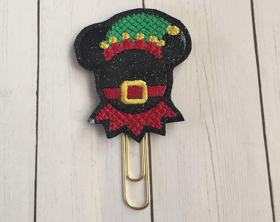 Boy Mouse Elf Planner Clip/Planner Clip/Bookmark. Glitter Planner Clip. Mouse Planner Clip. Elf Planner Clip. Christmas Planner Clip