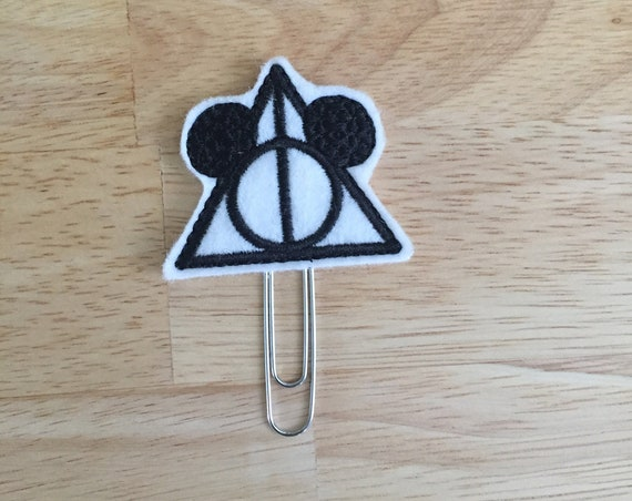 Always Believe Clip/Planner Clip/Bookmark. Mouse Planner Clip. Potter Planner Clip. Wizard Planner Clip. Deathly Hallows