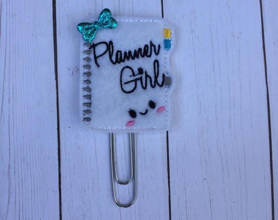 Planner Girl Notebook Planner Clip/Planner Clip/Bookmark. Planner Clip. Rose Gold Planner Clip. Notebook Planner Clip. Planner Girl Clip
