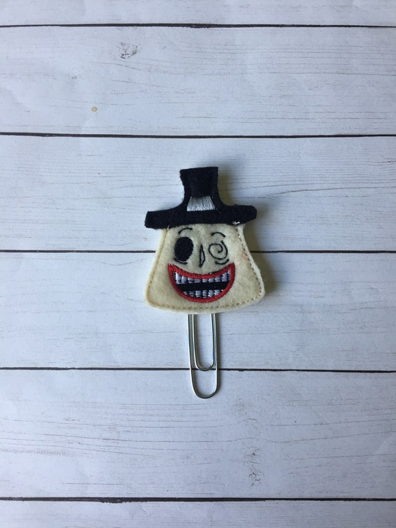 Mayor Planner Clip. Nightmare Before Christmas Planner Clip. Movie Planner Clip. Halloween Planner Clip.