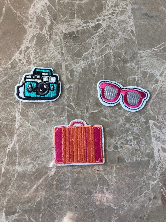 Travel Planner Patches. Sunglasses Planner Clips. Planner Patches. Camera Planner Stickers. Travel Planner Stickers