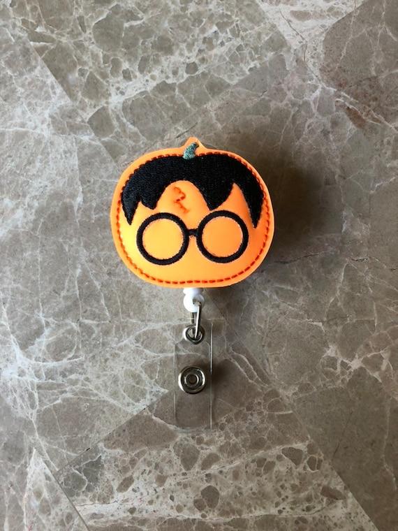 Potter Pumpkin Badge Reel/Fall Badge Reel/Halloween Badge Reel/Nurse Badge Reel/Pumpkin Badge Reel