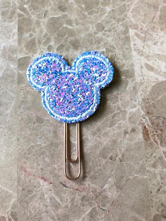 Confetti Glitter Mouse Planner Clip/Planner Clip/Bookmark. Glitter Mouse Planner Clip. Mouse Planner Clip.