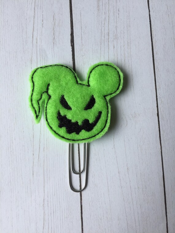 Oogie Mouse planner Clip/Planner Clip/Bookmark. Mouse Planner Clip. Oogie Planner Clip. Halloween Planner Clip. Character Planner Clip