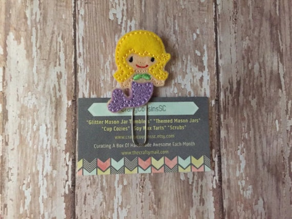 Mermaid Clip/Planner Clip/Bookmark. Mermaid Planner Clip. Summer Planner Clip. Beach Planner Clip