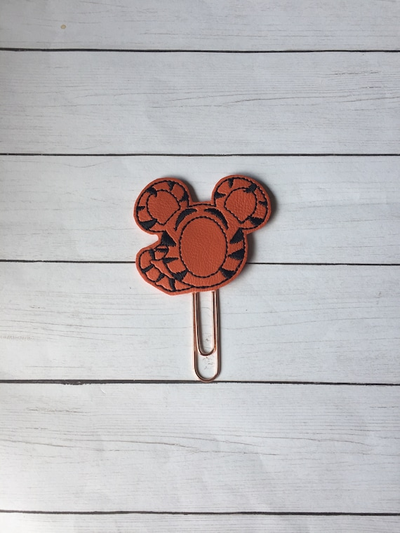 Tigger Mouse planner Clip/Planner Clip/Bookmark. Tiger Planner Clip. Mouse Planner Clip. Character Planner Clip. Tigger Planner Clip