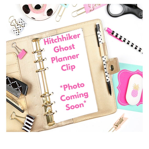 Hitchhiking Ghosts Planner Clip/Planner Clip/Bookmark. Ghost Planner Clip. Halloween Planner Clip. Fall Planner Clip