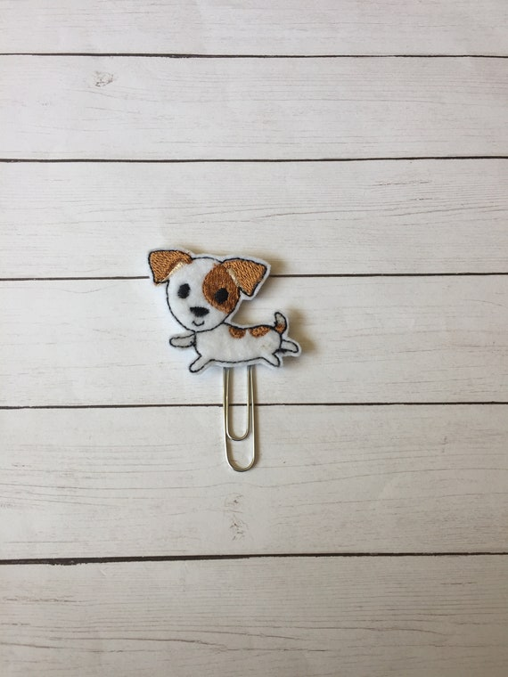 Jack Russell planner Clip/Planner Clip/Bookmark. Terrier Planner Clip. Dog Planner Clip. Animal Planner Clip. Pet Planner Clip
