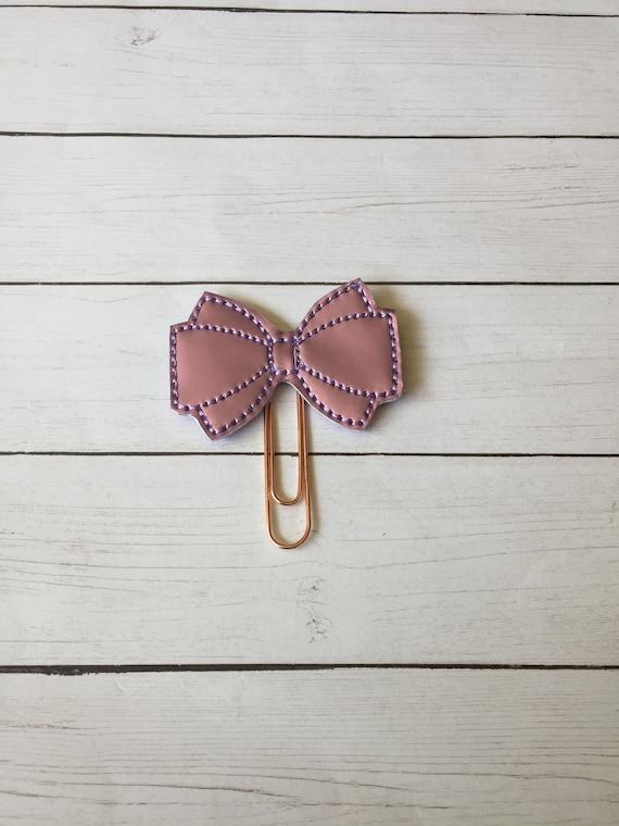 Purple Mirror Vinyl Bow planner Clip/Planner Clip/Bookmark. Bow Planner Clip. Purple Bow Planner Clip. Princess Bow Clip.