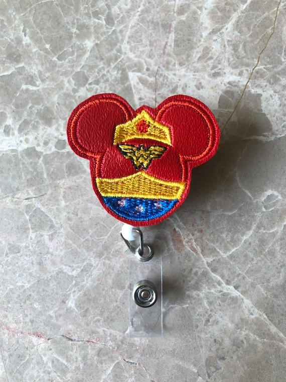 Wonder Mouse Badge Reel/Fall Badge Reel/Halloween Badge Reel/Nurse Badge Reel/Mickey Badge Reel