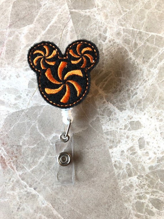 Halloween Mouse Badge Reel/Mouse Badge Reel/Nurse Badge Reel. Halloween Badge Reel
