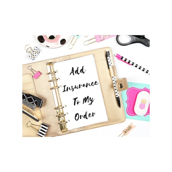 Add Insurance To Any First Class Package Order. Please Read Description.