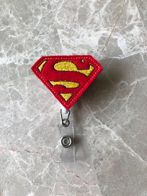 Super Hero Badge Reel/Hero Badge Reel/Nurse Badge Reel. Superman Badge Reel