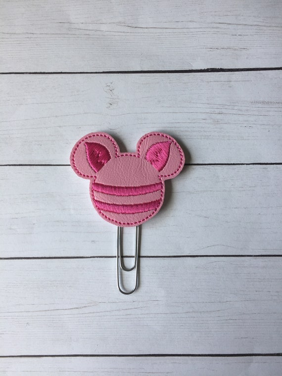 Piglet Mouse planner Clip/Planner Clip/Bookmark. Pig Planner Clip. Mouse Planner Clip. Character Planner Clip. Pooh Planner Clip