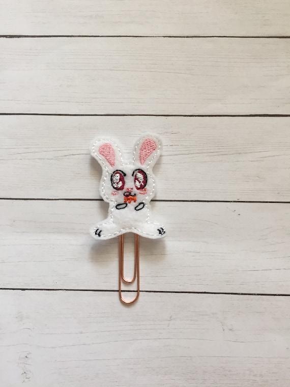 Killer Bunny Planner Clip/Planner Clip/Bookmark. Bunny Planner Clip. Killer Planner Clip