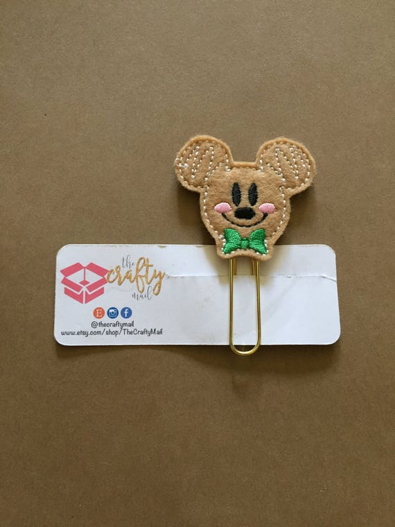 Ginger Mouse planner Clip/Planner Clip/Bookmark. Gingerbread Planner Clip. Ginger Boy Planner Clip. Christmas Planner Clip