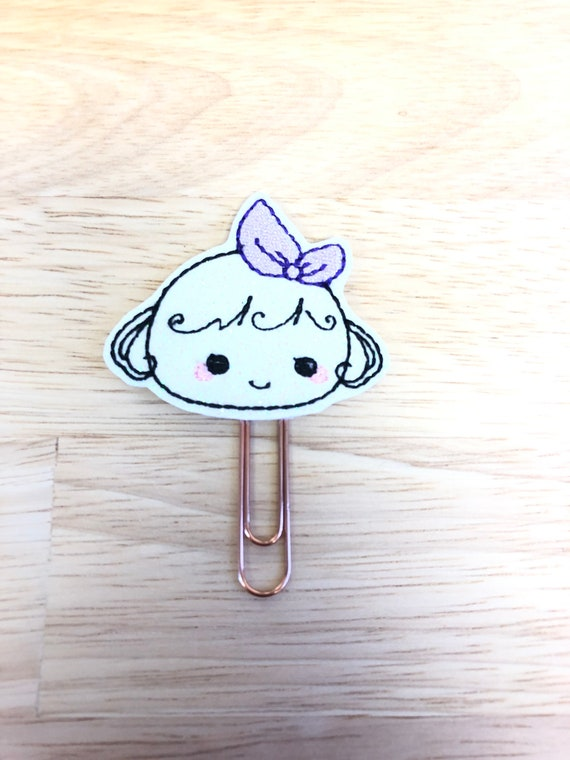 Glitter Vinyl Sweet Lolly Girl Planner Book Planner Clip/Planner Clip/Bookmark. Lolly Planner Clip. Girl Planner Clip.