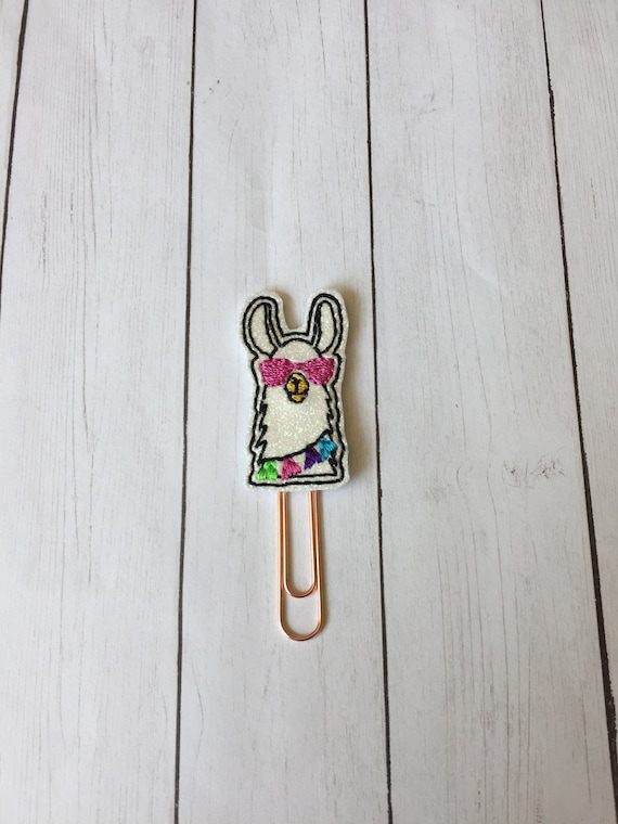 Party Llama planner Clip/Planner Clip/Bookmark. Fiesta Planner Clip. Llama Planner Clip. Animal Planner Clip