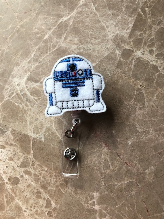R2D2 Badge Reel/ Badge Reel/Nurse Badge Reel. Star Wars Badge Reel
