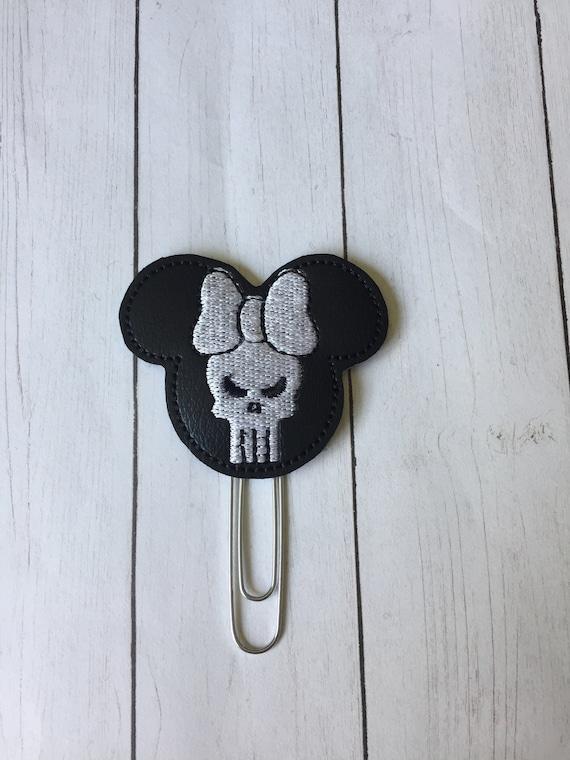 Miss Mouse Punisher planner Clip/Planner Clip/Bookmark. PunisherPlanner Clip.  Mouse Planner Clip. Super Hero Planner