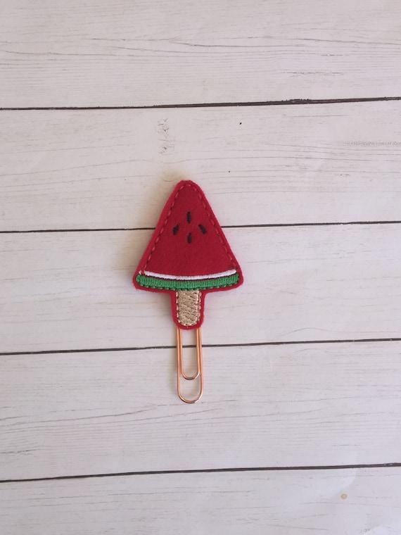 Watermelon Popsicle Planner Clip. Watermelon Planner Clip. Popsicle Planner Clip. Food Planner Clip. Fruit Planner Clip. Summer Planner Clip