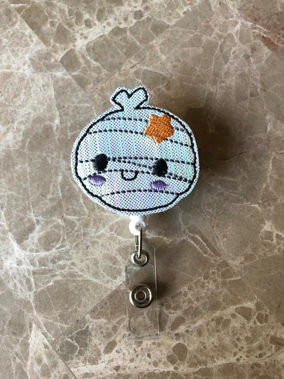 Adorable Mummy Badge Reel/Fall Badge Reel/Halloween Badge Reel/Nurse Badge Reel/Mummy Badge Reel