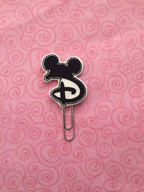 D Mouse Planer Clip/Planner Clip/Bookmark. Mouse Planner Clip. Mouse Ears Planner Clip. Character Planner Clip