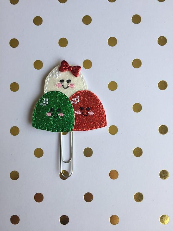 Glitter Gumdrops planner Clip/Planner Clip/Bookmark. Gumdrop Planner Clip. Gumdrops Planner Clip. Christmas Planner Clip. Holiday Clip