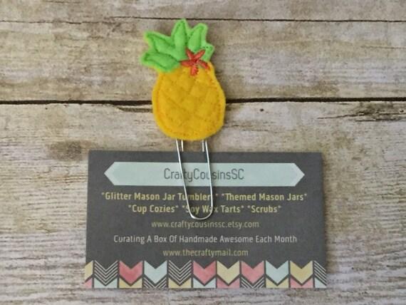 Pineapple Paper Clip