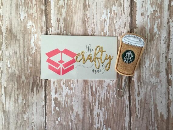 Hot Coffee Paper Clip