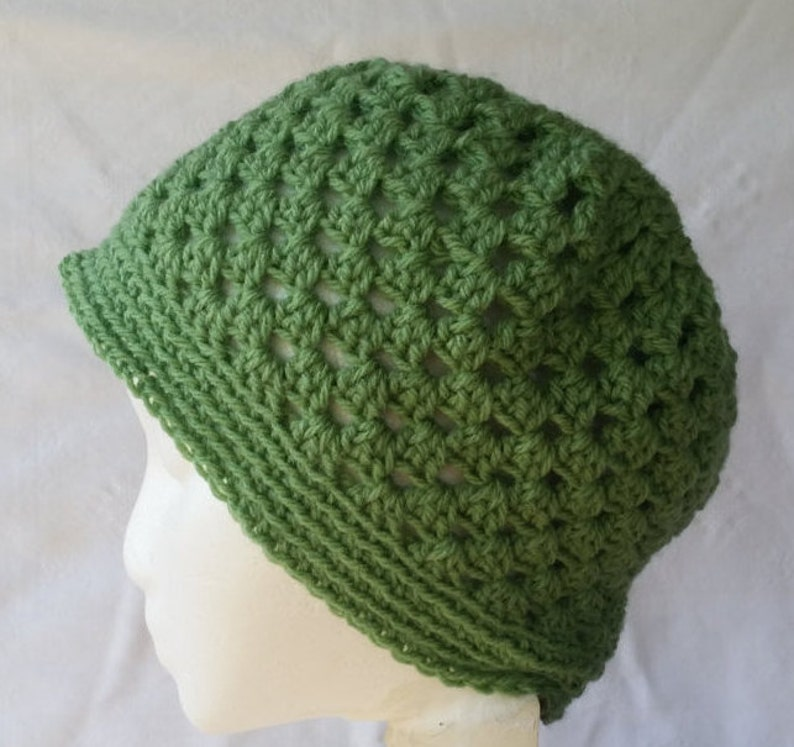 a2baf5ed71d Green beanie hat adult crochet beanie green unisex hat teen