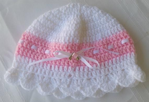 Baby Häkelhut Hut Häkeln Mädchen Mütze Häkelmütze Etsy