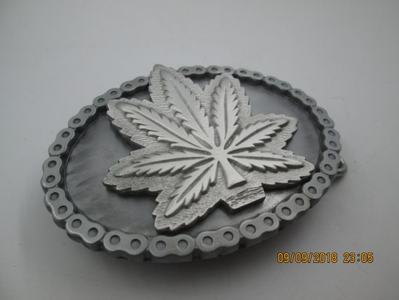 Marijuana Weed Leaf Ganja Pot License Plate Topper