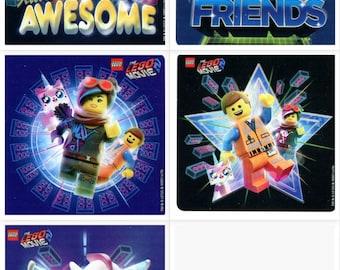 part 2   Stickers Party Favors Teacher Supply Vest friends 25 LEGO The Movie