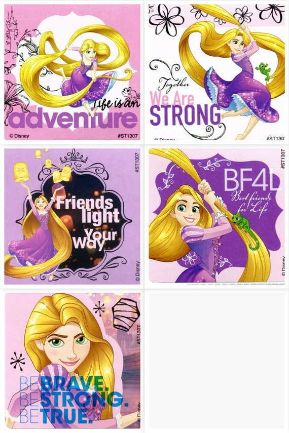 Disney Princess Party Cinderella Stickers x 5 Loot Bag Idea Birthday Party