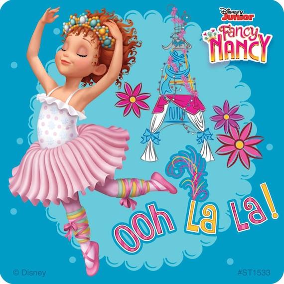 Party Favors 15 Fancy Nancy Rewards Large Stickers